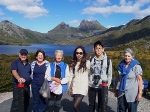Cradle Mountain Coach Day Tours ex Launceston Tasmania