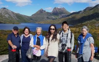 Cradle Mountain Coach Day Tours ex Launceston Tasmania