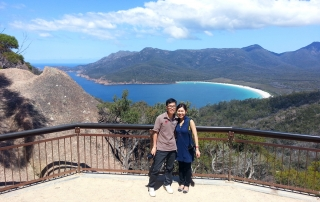 Wine Glass Bay Day Tour ex Launceston Tasmania